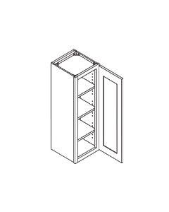 42 inch HEIGHT WALL CABINETS-1 Door-Shaker Espresso