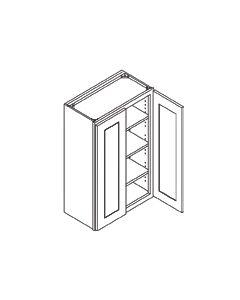42 inch HEIGHT WALL CABINETS-2 Door-Shaker Espresso